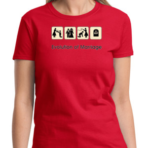 Evolution Ladies T