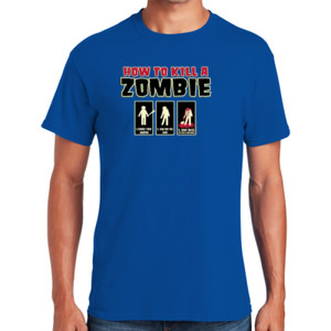 Zombie How-To T-Shirt