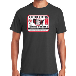 Zombie Hunting US T-Shirt