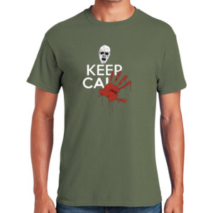 Keep Calm Zombie T-Shirt