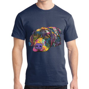 Colorful Lab - Adult Soft Cotton T