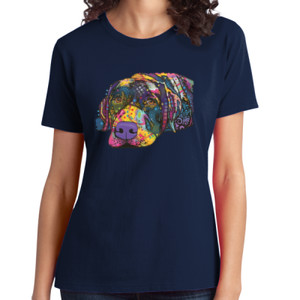 Colorful Lab - Ladies Soft Cotton T
