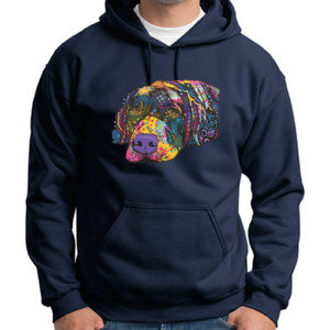 Colorful Lab - Adult 50/50 Blend Hoodie