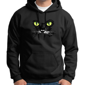 Cat Face - Adult 50/50 Blend Hoodie