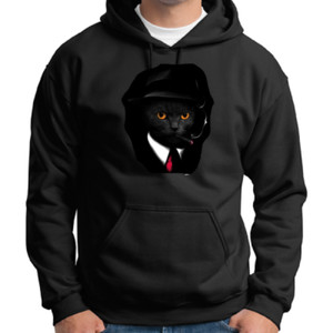 Cool Cat - Adult 50/50 Blend Hoodie