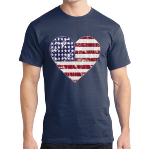 Love America - Adult Soft Cotton T