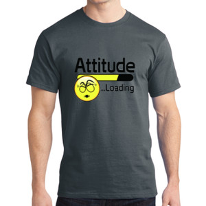 Attitude - Adult Soft Cotton T