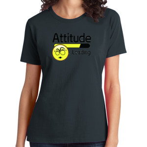 Attitude - Ladies Soft Cotton T
