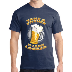 Take a Pitcher - Adult Soft Cotton T