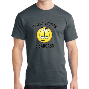 Sarcasm - Adult Soft Cotton T