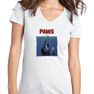 Paws - Juniors V-Neck T