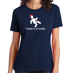 Try at Home - Ladies Soft Cotton T