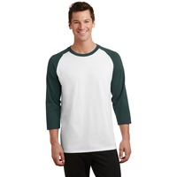 Adult 3/4 Sleeve Raglan T