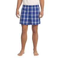 Adult Flannel Plaid Boxer