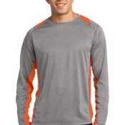 Copy of Adult Heather Colorblock LS T