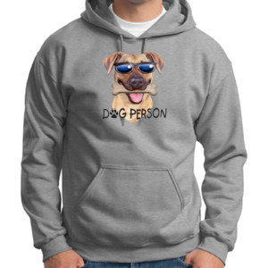 Dog Person T-Shirt - Adult Dri Blend Hooded