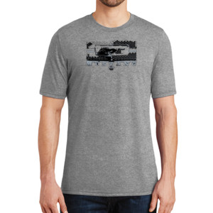 Mustang Grill - Adult Soft Tri-Blend T
