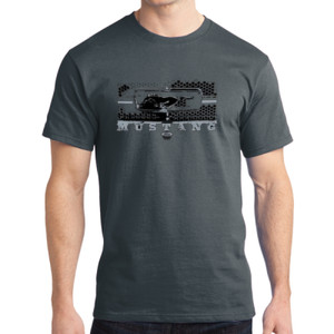 Mustang Grill - Adult Soft Cotton T