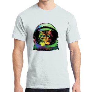 Space Kitten - Adult Soft Cotton T