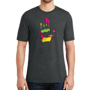 Handprint - Adult Soft Tri-Blend T