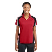 Ladies Tricolor Polo