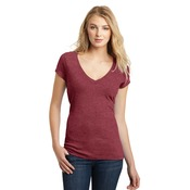 Juniors Deep V Neck