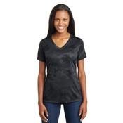 Ladies CamoHex V Neck