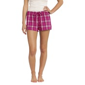Juniors Flannel Plaid Boxer