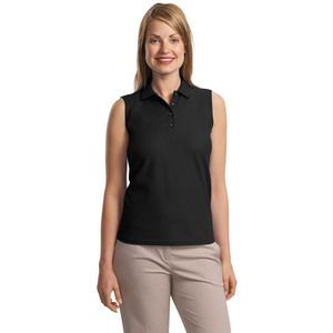 Ladies Sleeveless Polo Thumbnail