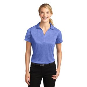 Ladies Heather Polo Thumbnail