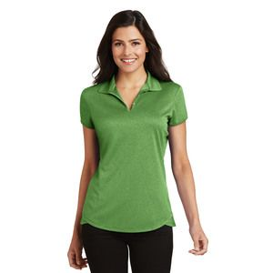 Ladies Trace Heather Polo Thumbnail