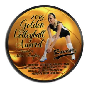 Round Award Plaque Thumbnail