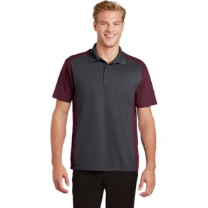 Adult Colorblock Micropique Polo Thumbnail