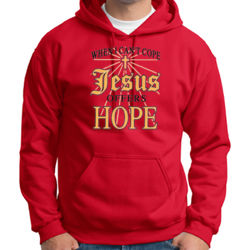 Jesus Offers Hope Hoodie Thumbnail