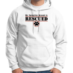 Rescued - Adult 50/50 Blend Hoodie Thumbnail