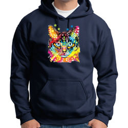 Rainbow Cat - Adult 50/50 Blend Hoodie Thumbnail