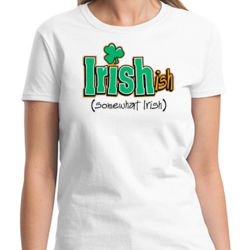 Somewhat Irish Ladies T Thumbnail