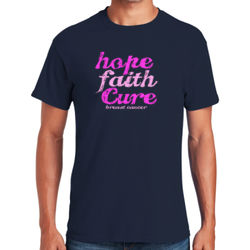 Hope Faith Cure T-Shirt Thumbnail