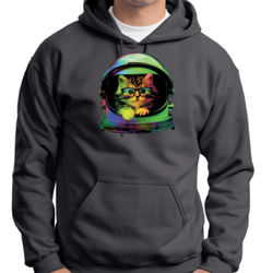 Space Kitten - Adult 50/50 Blend Hoodie Thumbnail