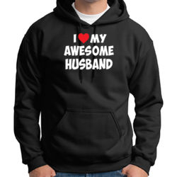 Love My Husband Hoodie Thumbnail