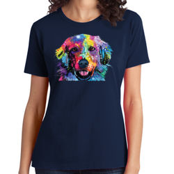 Colorful Golden 2 - Ladies Soft Cotton T Thumbnail