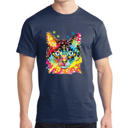 Rainbow Cat - Adult Soft Cotton T Thumbnail