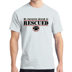 Rescued - Adult Soft Cotton T Thumbnail