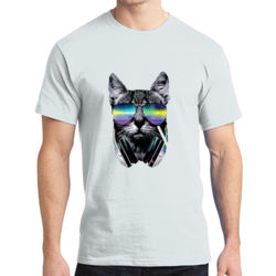 DJ Cat - Adult Soft Cotton T Thumbnail