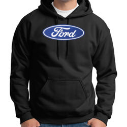 Ford Logo - Adult 50/50 Blend Hoodie Thumbnail