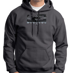 Mustang Grill - Adult 50/50 Blend Hoodie Thumbnail