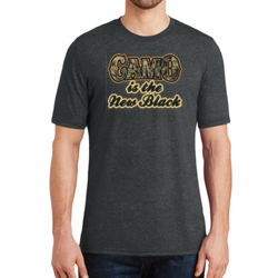 Camo is the New Black - Adult Soft Tri-Blend T Thumbnail