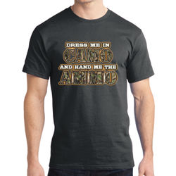 Dress Me in Camo - Adult Soft Cotton T Thumbnail