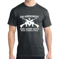 2nd Ammendment - Adult Soft Cotton T Thumbnail