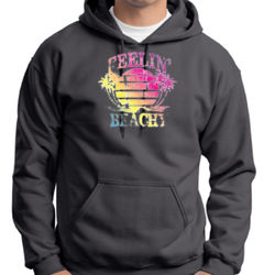 Feelin' Beachy - Adult 50/50 Blend Hoodie Thumbnail
